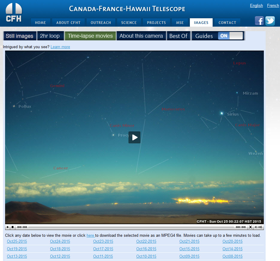 Canada_Hawai_Telescope_webcam